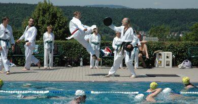 24 Stunden Schwimmen in Meiningen 13.07.2013