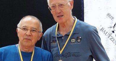 Fechten Bautzen 2018: Gerhard, Heinz (rechts)