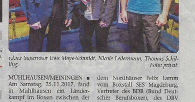 Boxen Wochenspiegel vom 13.12.2017
