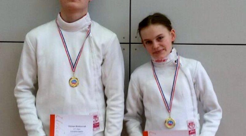 Saalfeld Thueringer Meisterschaft 2018 Lennart und Paula