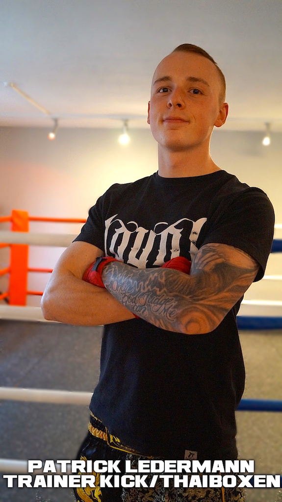 Trainer Kickboxen / Thaiboxen Patrick Ledermann Meiningen