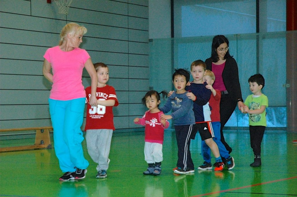 Juniorsport Kindersport Meiningen Spielen